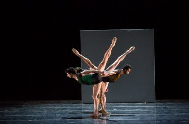 Artists of Pennsylvania Ballet in Nacho Duato's Remansos.  Photo: Alexander Iziliaev