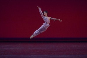 Shu Kurihara (17) at the YAGP Final Round Photo by VAM Productions