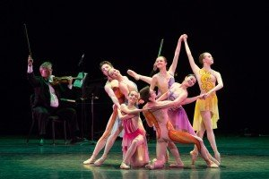 Garden of Dreams, choreographed by Jeremy McQueen, students of ABT's Jacqueline Kennedy Onassis School, photo by Teresa Wood