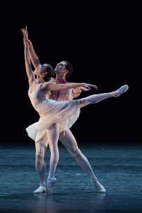 Pas de deux from Antony Tudor's The Leaves Are Fading, Stella Abrera and Marcelo Gomes, photo by Teresa Wood