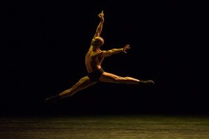 Imprint/Maya, choreographed by Dwight Rhoden, dancer Desmond Richardson, photo by Teresa Wood
