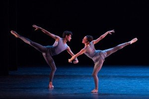 Chutes and Ladders, choreographed by Justin Peck, Jeanette Delgado and Renan Cerdeiro, photo by Teresa Wood