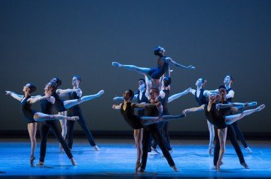 Nashville Ballet in Paul Vasterling's Concerto, photo by Teresa Wood