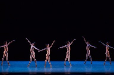 The Joffrey Ballet in Christopher Wheeldon's Fool's Paradise, photo by Teresa Wood