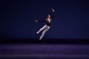 Taro Kurachi (18) at the YAGP Final Round Photo by VAM Productions