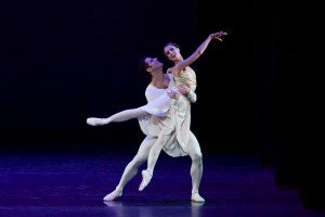 Maria Noel Riccetto and Marcelo Gomes at the YAGP Tribute to Julio Bocca Gala Photo by VAM Productions