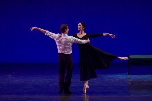 Isabelle Guerin and Manuel Legris at the YAGP Tribute to Julio Bocca Gala Photo by VAM Productions