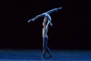 Lucia Lacarra and Marlon Dino at the YAGP Tribute to Julio Bocca Gala Photo by VAM Productions