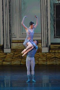 Tiler Peck and Joaquin De Luz at the YAGP Tribute to Julio Bocca Gala Photo by VAM Productions