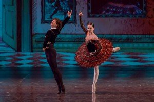 Tamara Rojo and Isaac Hernandez at the YAGP Tribute to Julio Bocca Gala Photo by VAM Productions