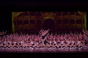 "YAGP Competition Dancers in ""Grand Defile"" choreographed by Carlos dos Santos, Jr. Photo by VAM Productions"