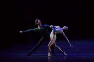 Svetlana Lunkina and Evan McKie at the YAGP Stars Gala Photo by VAM Productions