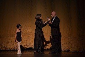 YAGP Lifetime Achievement Award presented to Bruce Marks by Nina Ananiashvili Photo by VAM Productions