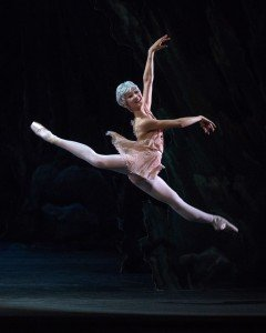 "American Ballet Theatre dancer Rachel Richardson in ""Don Quixote"" Photo by Rosalie O'Connor."