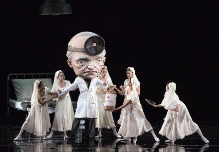 "Alexei Agoudine and American Ballet Theatre dancers in Alexei Ratmansky's ""Whipped Cream"""