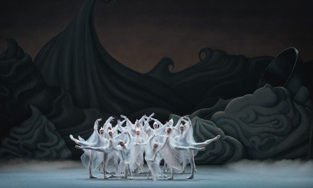 "American Ballet Theatre dancers in Alexei Ratmansky's ""Whipped Cream"" Photo by Gene Schiavone"
