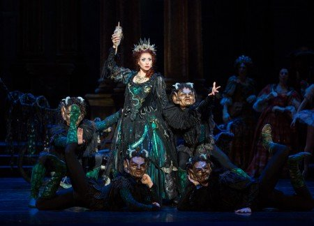 "Boston Ballet dancer Erica Cornejo in Marius Petipa's ""The Sleeping Beauty"" Photo by Rosalie O'Connor"