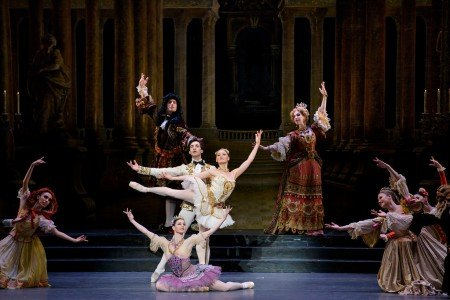 "Boston Ballet dancers in Marius Petipa's ""The Sleeping Beauty"" Photo by Liza Voll"