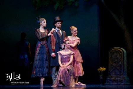 San Francisco Ballet in Wheeldon's Cinderella© Photo © Erik Tomasson