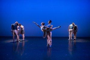 "New York Theatre Ballet dancers in Pam Tanowitz's ""Double Andante"" Photo by Rachel Neville"