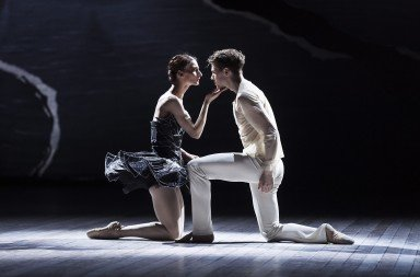 Desislava Stoeva and Calum Lowden in The Dream of Swan Lake  Picture: Carl Thorborg