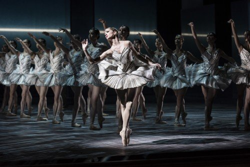 "Luiza Lopes of Royal Swedish Ballet in ""The Dream of Swan Lake"" Picture: Carl Thorborg"