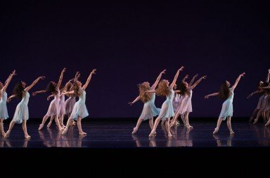 "School of Oregon Ballet Theatre students  in ""Walpurgisnacht Ballet"" by George Balanchine     Photo by Yi Yin"