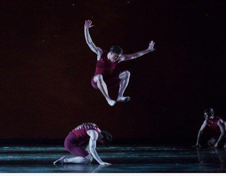 "Oregon Ballet Theatre dancer Peter Franc  in Helen Pickett's ""Terra""   Photo by James McGrew"
