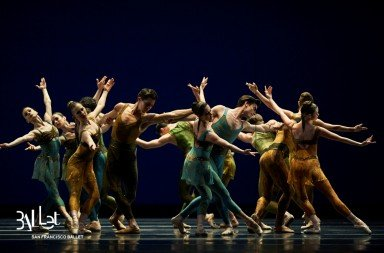 San Francisco Ballet in Christopher Wheeldon's Within the Golden Hour© Photo © Erik Tomasson