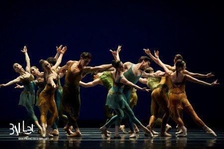San Francisco Ballet in Christopher Wheeldon's Within the Golden Hour© Photo © Erik Tomasson