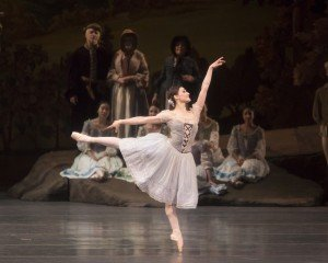 "Sarah Lane and members of American Ballet Theatre in a prior performance of ""Giselle"" Photo by Erin Baiano"
