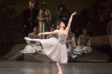 "Sarah Lane  and members of American Ballet Theatre  in ""Giselle""    Photo by Erin Baiano"