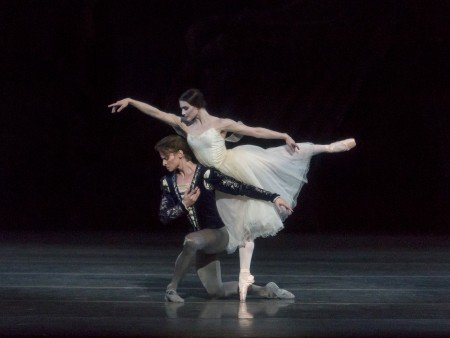"Sarah Lane and Daniil Simkin, in a prior performance of ""Giselle"" Photo by Erin Baiano"