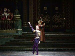 "American Ballet Theatre dancer Alban Lendorf in ""Swan Lake"" Photo by Gene Schiavone"