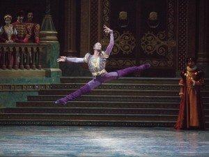 "American Ballet Theatre dancer Calvin Royal III in ""Swan Lake"" Photo by Gene Schiavone"