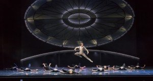"Eifman Ballet dancer Oleg Gabyshev and members of the company in ""Tchaikovsky.Pro et Contra"" Photo by Evgeny Matveev"