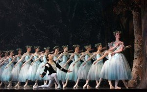 Sergei Upkin and Marita Weinrank in Giselle Picture: Estonian National Ballet
