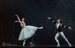 Luana Georg and Sergei Upkin in Giselle Picture: Estonian National Ballet