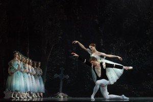 Alena Shkatula and Denis Klimuk in giselle Picture: Estonian National Ballet
