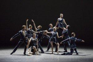 """New York City Ballet dancers in Annabelle Lopez Ochoa's """"Unframed"""" Photo by Paul Kolnik"""