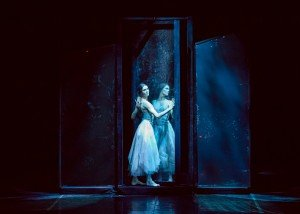 """Eifman Ballet dancer Maria Abashova in """"Red Giselle"""" Photo by Yulia Kudryashova"""