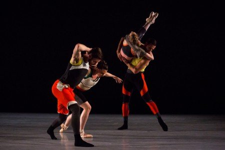 "Members of Emery LeCrone Dance in ""The Innermost Part of Something"" Photo by Matthew Murphy"