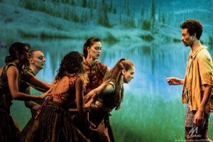 """LLMoves dancers in Lindsey L. Miller's """"The Trees Are Falling"""" Photo by Andrew J. Mauney"""