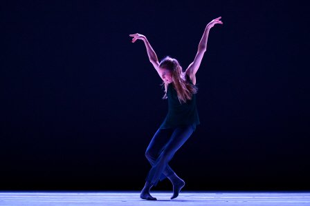 "Wendy Whelan in Claudia Schreier's ""The Trilling Wire"" Photo by Eduardo Patino"