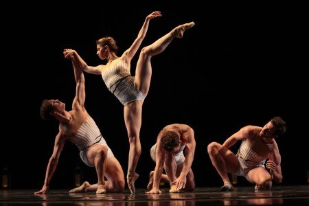 "Tina Laforgia Morse and Amy Seiwert's Imagery dancers in ""Wandering"" Photo by Chris Hardy"