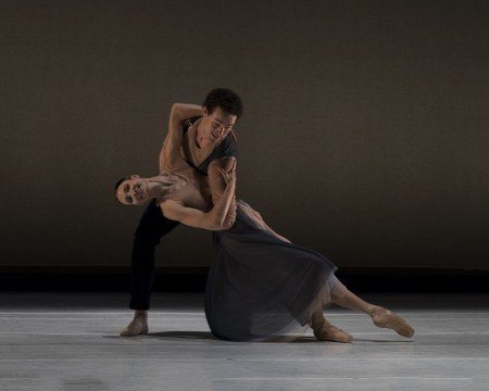 "Christine Shevchenko and Cory Stearns in Gemma Bond's ""The Giving"" Photo by Rod Brayman"