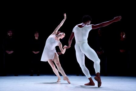 "Wendy Whelan and Da'Von Doane in Claudia Schreier's ""Vigil"" Photo by Eduardo Patino"