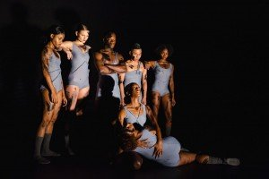 "Mia Brice, Chanel DaSilva and dancers in ""Susan"" Photo by David Gonsier"
