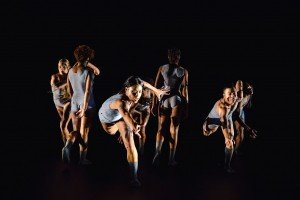 "Chanel DaSilva and dancers in ""Susan"" Photo by David Gonsier"