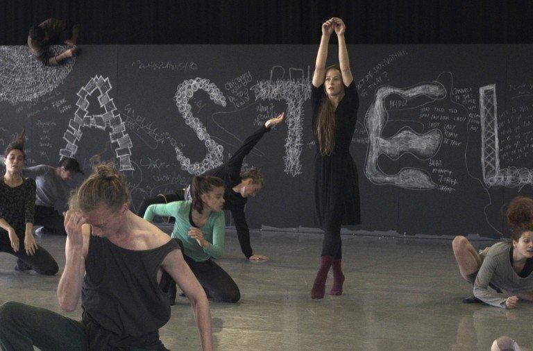 "Bobbi Jene rehearsing with  Batsheva Dance Company in Tel Aviv.   From ""Bobbi Jene,""  a film directed by Elvira Lind Image courtesy of  Oscilloscope Laboratories"